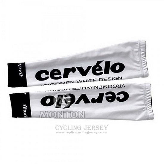 2010 Cervelo Arm Warmer Cycling White