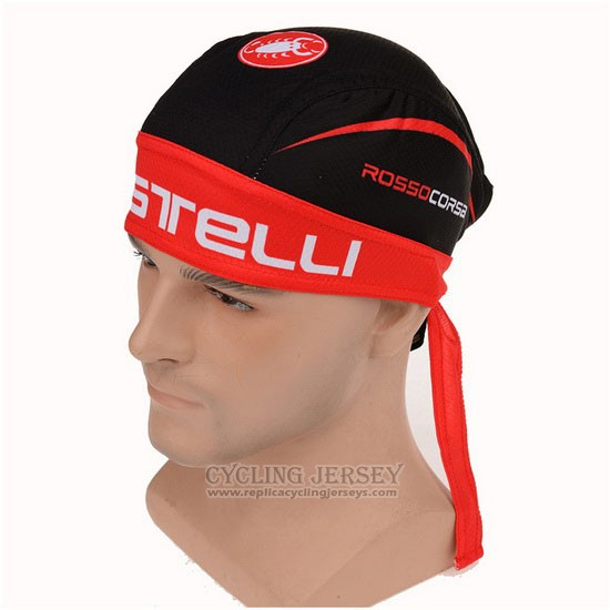 2015 Castelli Scarf Cycling Red