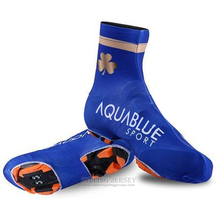 2018 Aqua Blue Sport Shoes Cover Cycling
