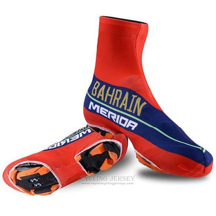 2018 Bahrain Merida Shoes Cover Cycling