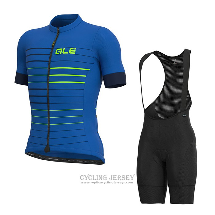 2021 Cycling Jersey Ale Blue Short Sleeve And Bib Short