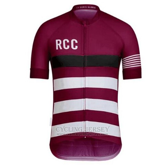 2019 Cycling Clothing Rcc Paul Smith Deep Red Short Sleeve and Overalls
