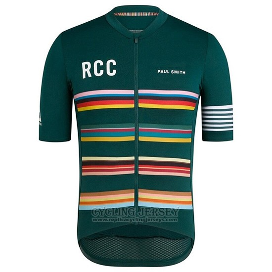 2019 Cycling Clothing Rcc Paul Smith Green Short Sleeve and Overalls