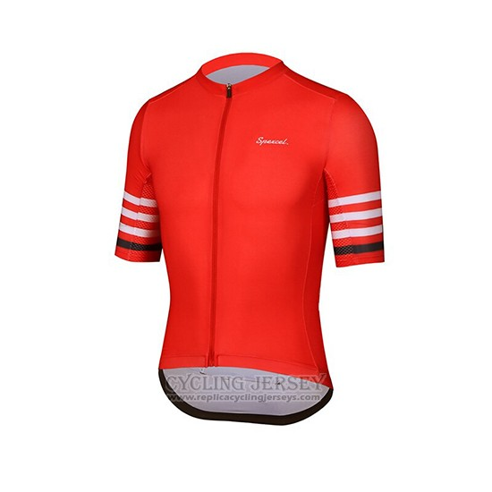 2019 Cycling Clothing Spexcel Red Short Sleeve and Overalls