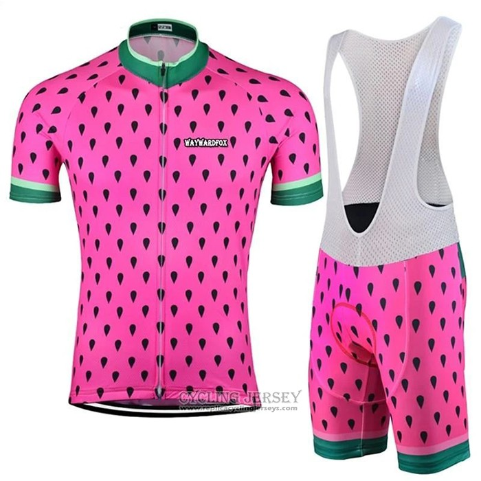 2020 Cycling Jersey Astek Pink Short Sleeve And Bib Short