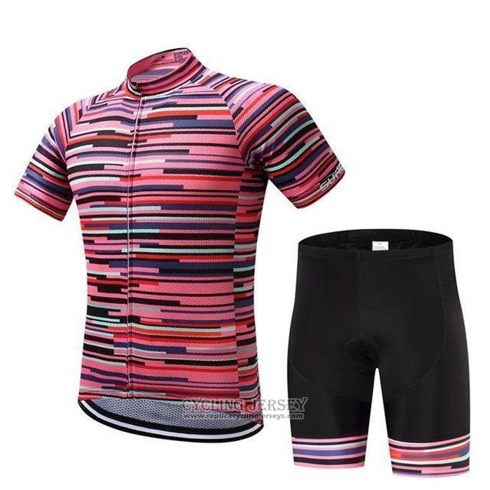 2020 Cycling Jersey Rarrot Red Short Sleeve And Bib Short