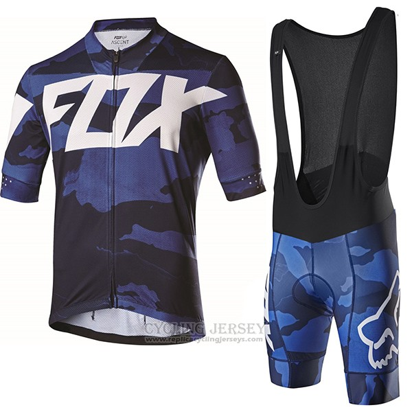 2017 Cycling Jersey Fox Ascent Comp Purple Short Sleeve and Bib Short