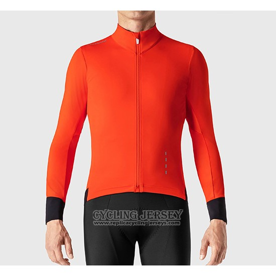 2019 Cycling Jersey La Passione Red Black Long Sleeve And Bib Tight