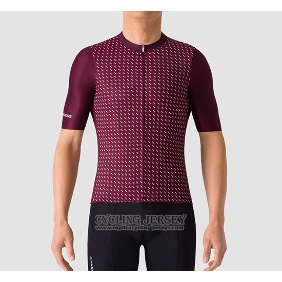 2019 Cycling Jersey La Passione Red Short Sleeve And Bib Short