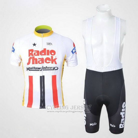2011 Cycling Jersey Radioshack Champion The United States Short Sleeve and Bib Short