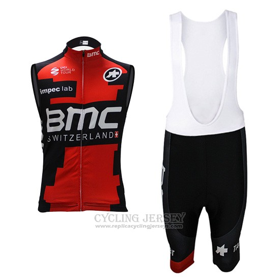 2017 Wind Vest BMC Red and Black