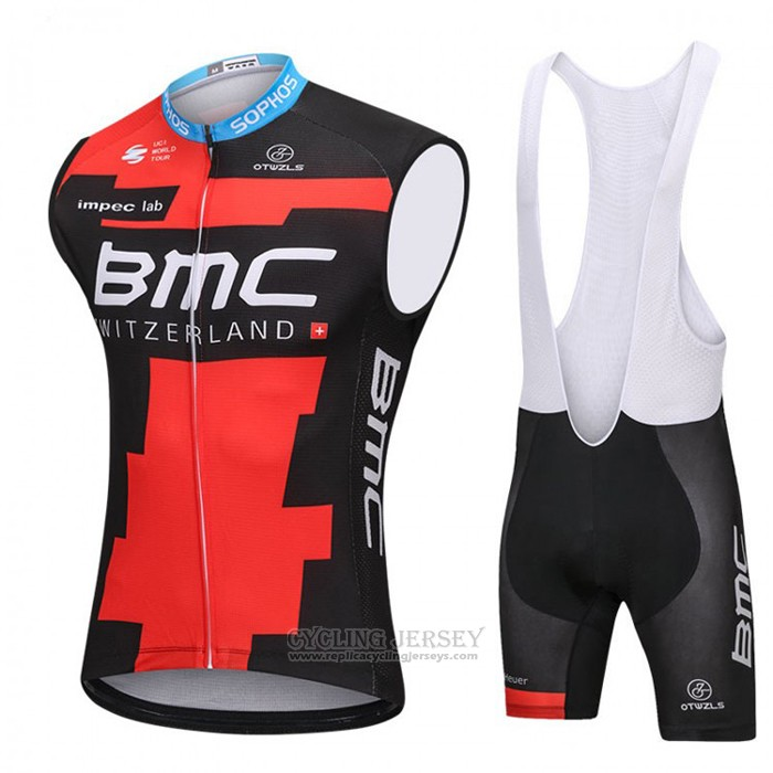 2018 Wind Vest BMC Black and Red
