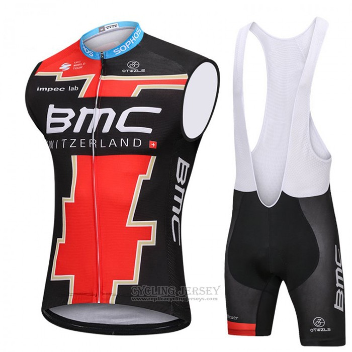 2018 Wind Vest BMC Red and Black