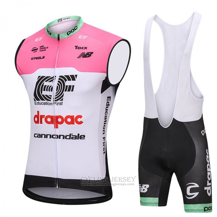 2018 Wind Vest Cannondale Drapac White and Pink