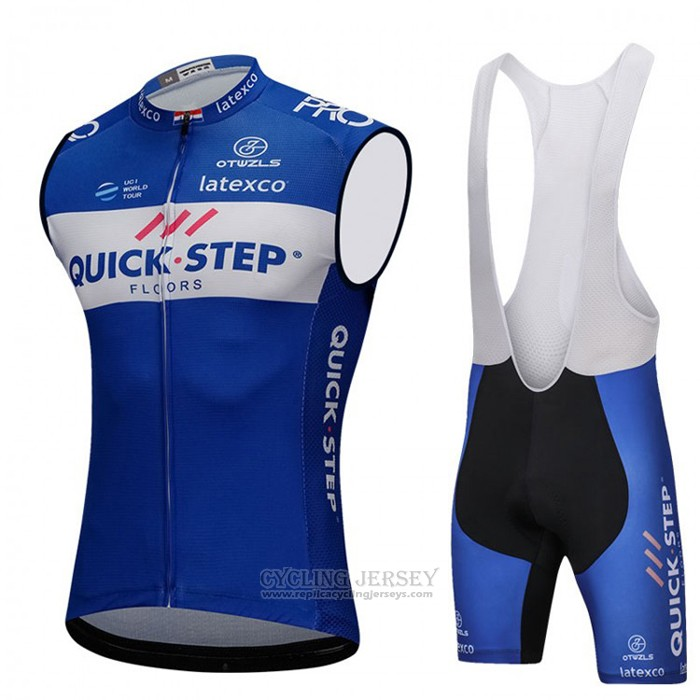 2018 Wind Vest Quick Step Floors Bluee