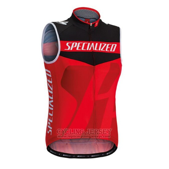 2016 Wind Vest Specialized Black and Red