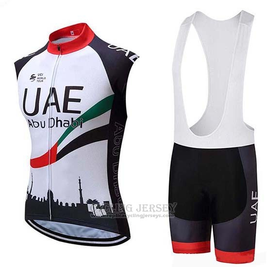2019 Wind Vest Uae Black White Red