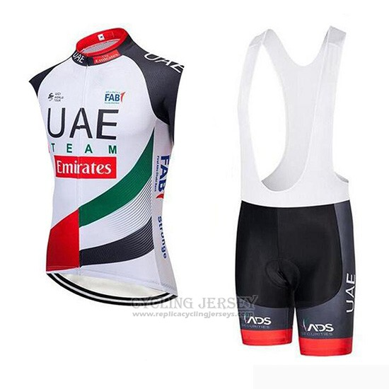 2019 Wind Vest Uae White Black Red