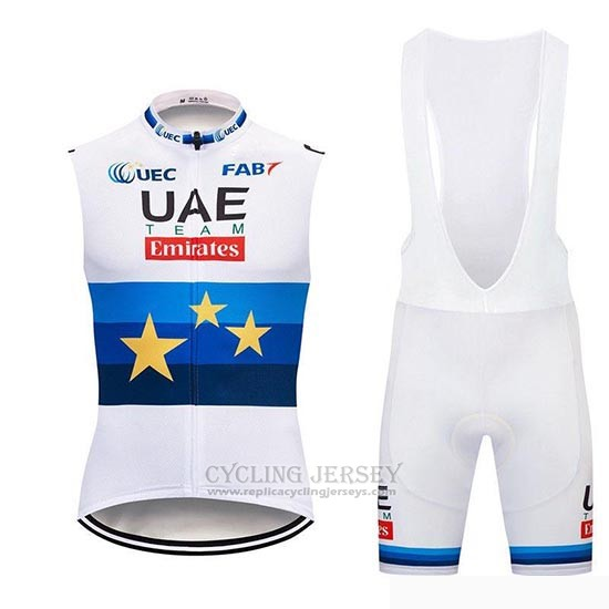 2019 Wind Vest Uae White White Bluee