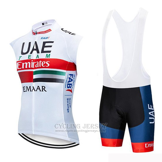 2019 Wind Vest Uae White White Red